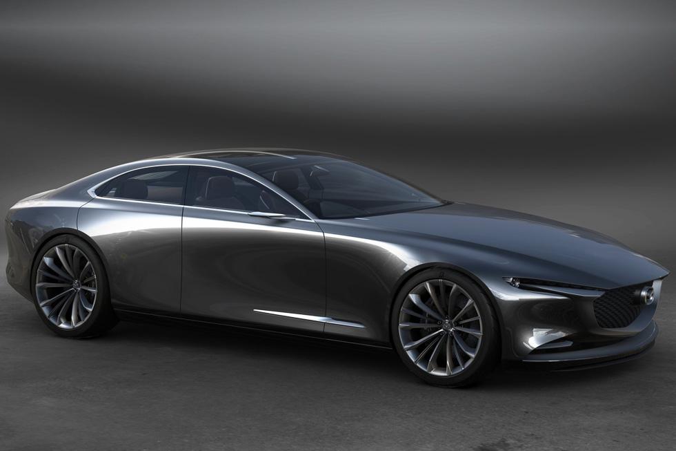 Mazda 6 2022: la nueva generación de la berlina, ¿con configuración similar a los BMW?