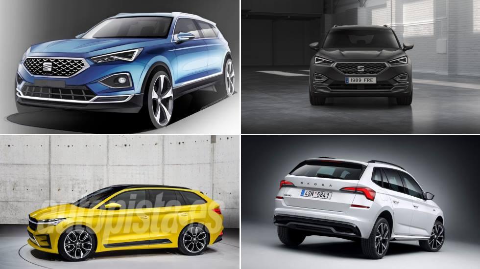 Todos los nuevos SUV de Seat y Skoda en 2020: Tarraco FR, Ateca, Enyaq, Vision iV…