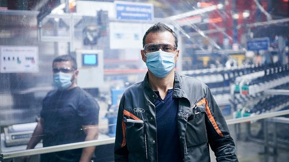 Ford reactiva la producción en su planta de Almussafes en Valencia