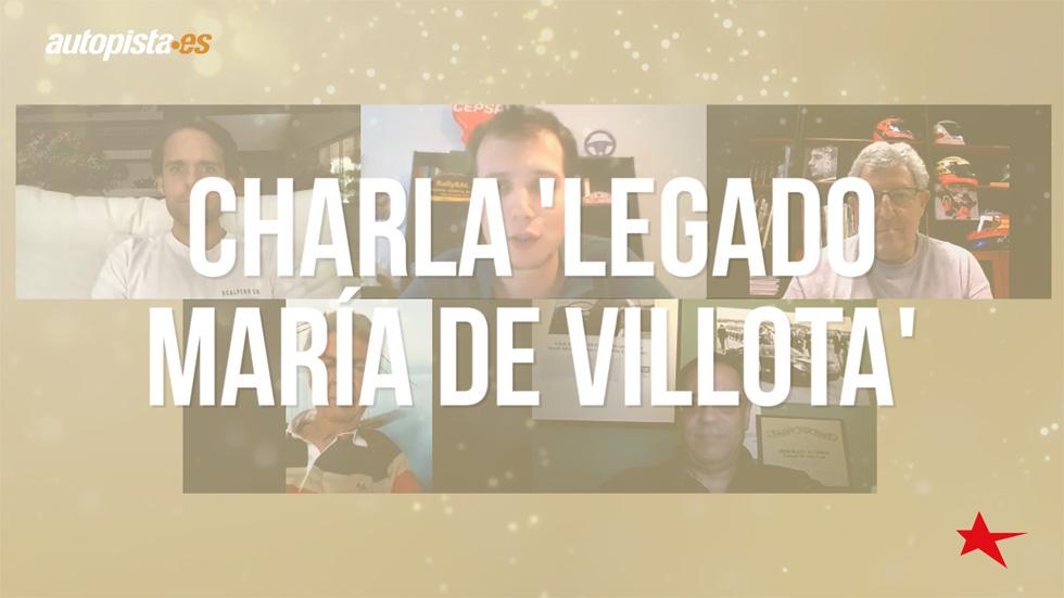 Así es el Legado María de Villota: una charla muy especial (VÍDEO)