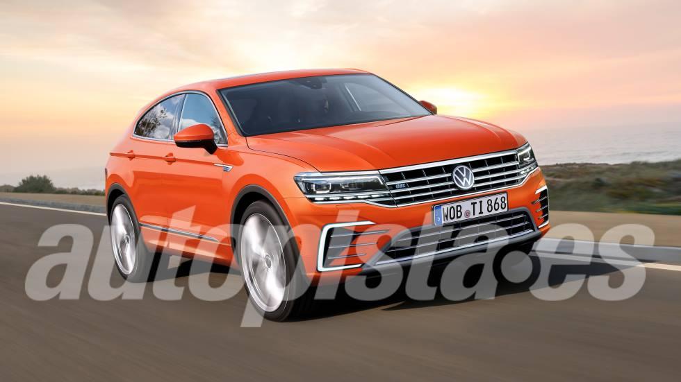 VW Tiguan Coupé: así será la futura versión del SUV, a la venta en 2021