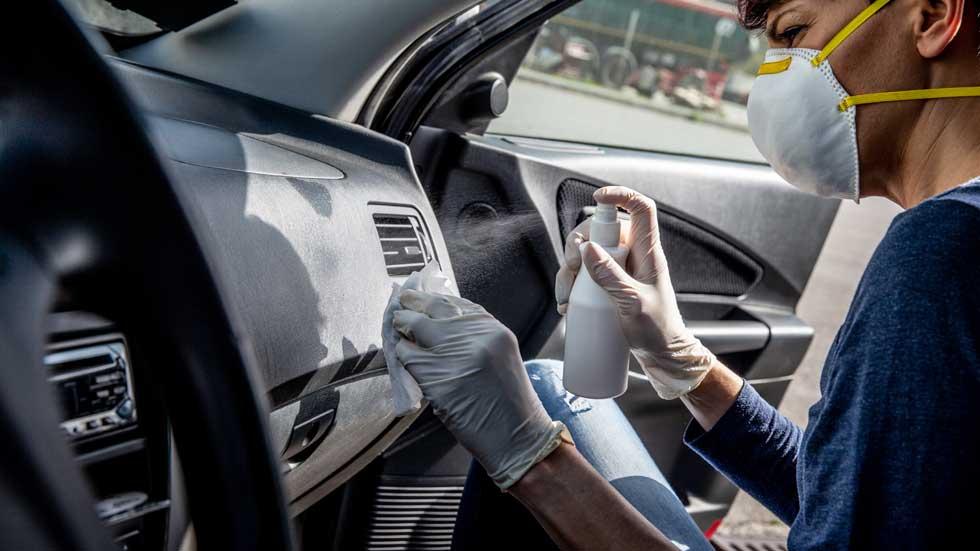 ¿Precios abusivos en la desinfección de coches? La OCU te avisa