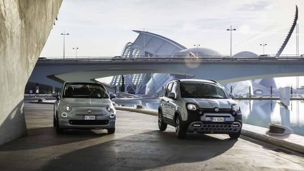 Fiat 500 y Fiat Panda Hybrid, desde 4 euros al día, y con pack de desinfección D-Fence