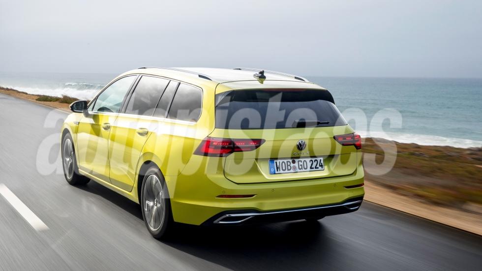 VW Golf 8 Variant 2020: así será el nuevo compacto familiar