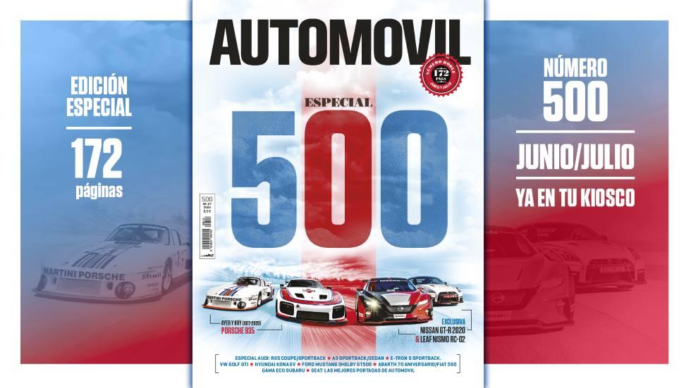 Revista AUTOMÓVIL 500: ya a la venta un número muy especial
