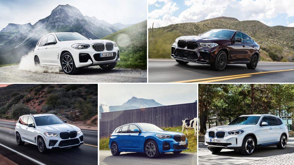 Todos los nuevos SUV de BMW en 2020: X1, X3, X5, X6…