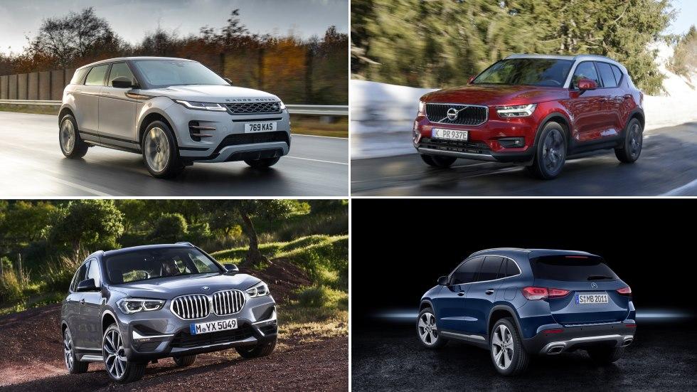 Los nuevos SUV PHEV: Volvo XC40, Mercedes GLA, BMW X1 y Range Rover Evoque