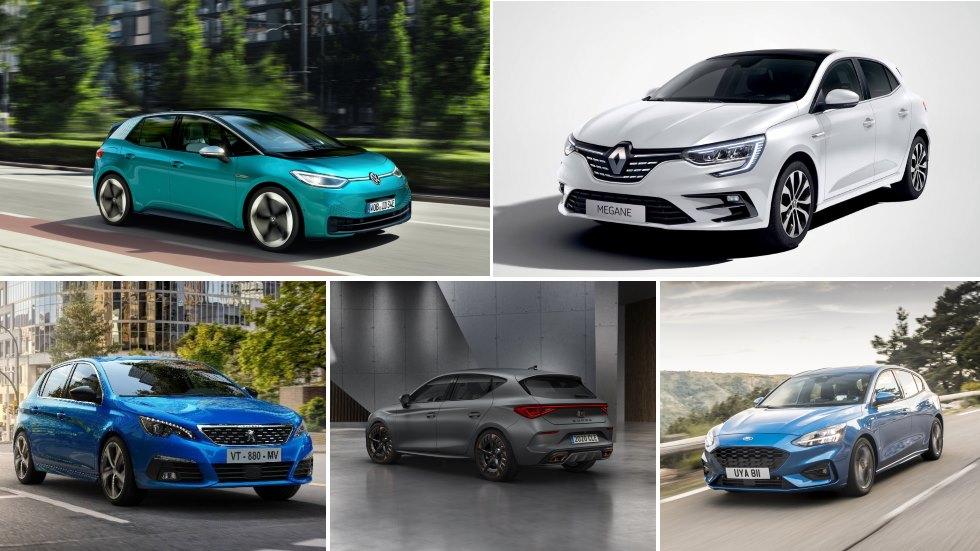 Todos los nuevos compactos que llegan: Golf, 308, Mégane, Focus, Astra, i30...