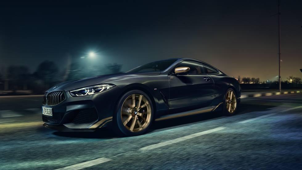 BMW Serie 8 Golden Thunder Edition: lujo extravagante con acabados en oro