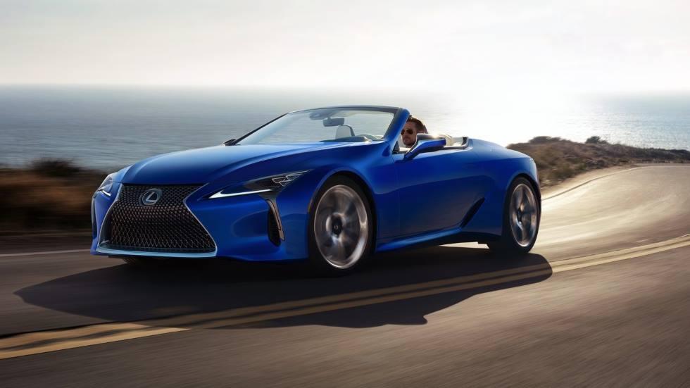 Lexus LC 500 Cabrio 2020: precios y nuevos datos del descapotable Premium