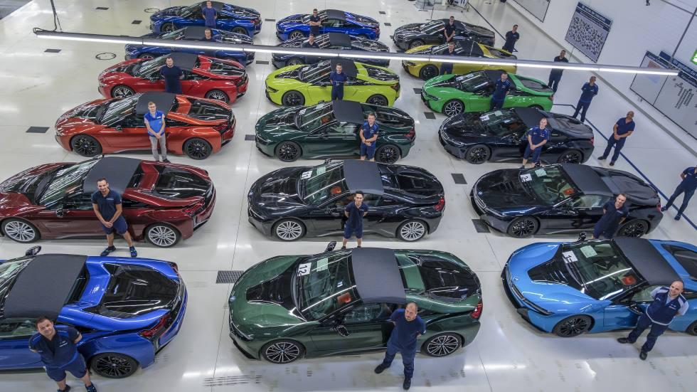 Los últimos BMW i8 salen ya de fábrica: así son los deportivos