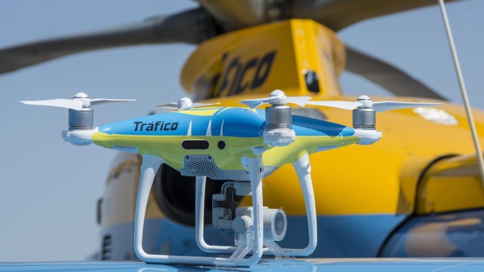 Cuándo vuelven a multar los drones de la DGT y cómo sancionan