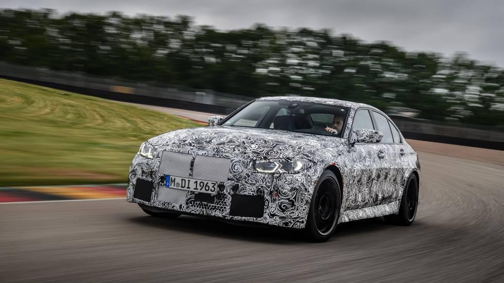BMW M3 y M4 Coupé 2021: los nuevos deportivos ya ruedan en circuito