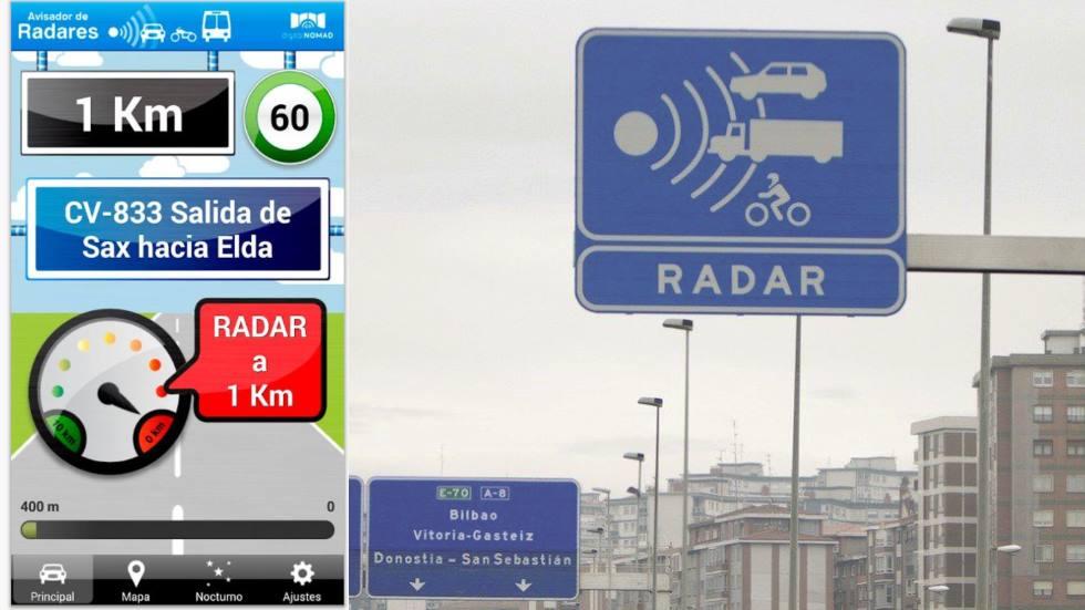 Detectores y avisadores de radares: cuáles son legales y cuáles prohíbe la DGT
