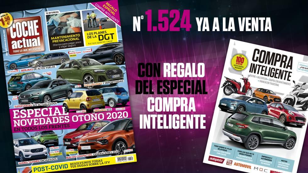 Revista Coche Actual 1.524, ya a la venta: al detalle los nuevos Seat Ateca, VW Tiguan, Audi Q5…