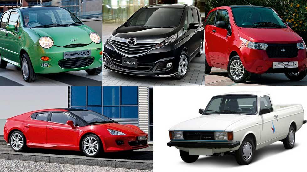 10 de los coches más feos del mundo. Menos mal que no se venden en España...