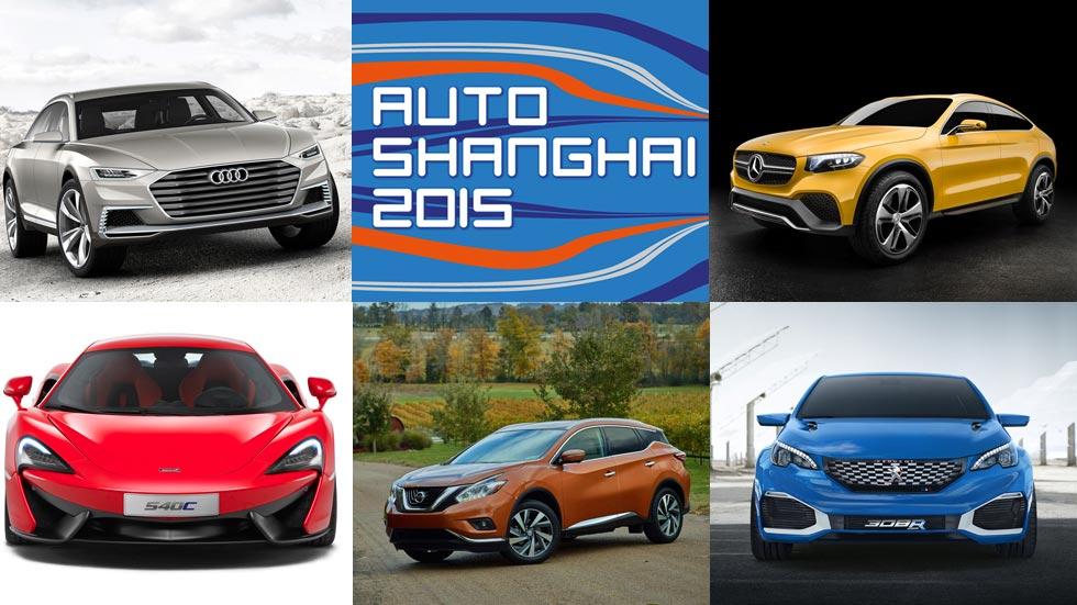 Los 10 mejores coches del Salón de Shanghai 2015