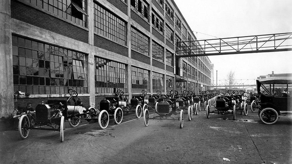 1914: ¿Por qué los Ford T eran negros?
