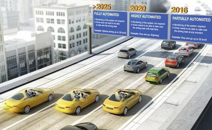 En 2025 los coches conducirán solos