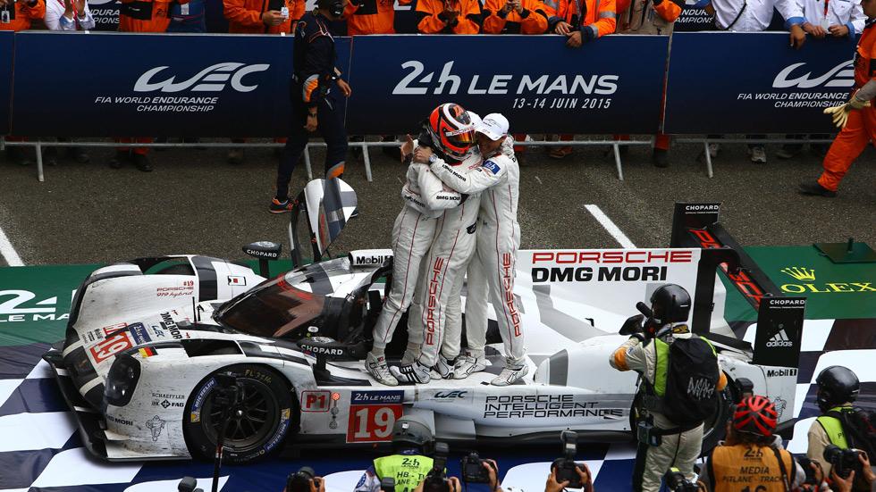 24 horas de Le Mans 2015: Porsche y Hulkenberg, los grandes reyes