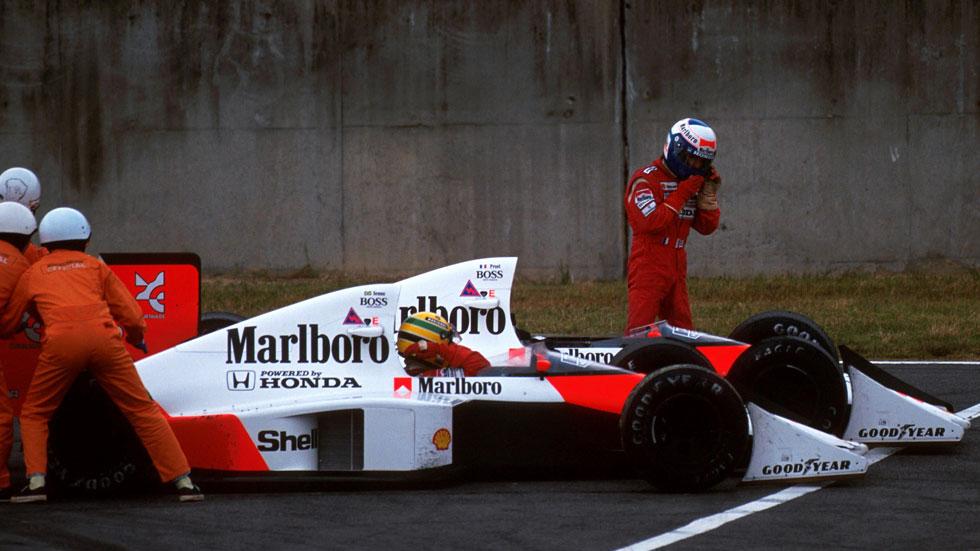1989, 25 años del incidente Prost-Senna en Suzuka