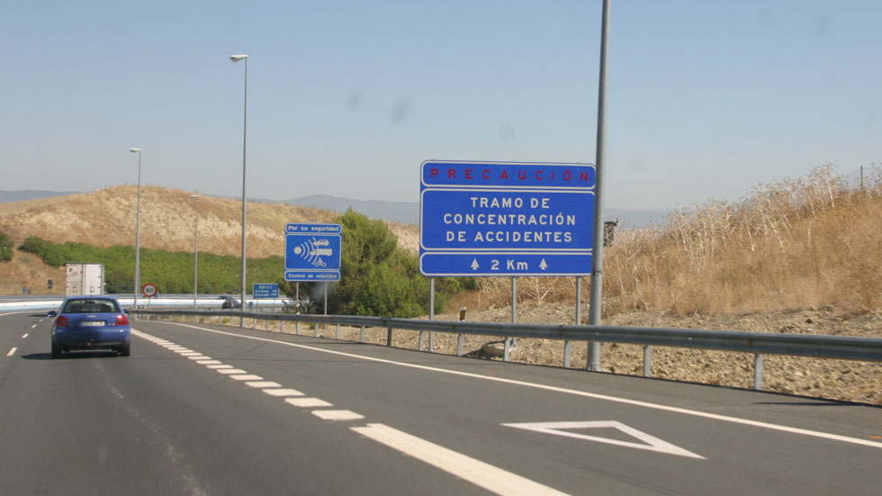 Los 25 puntos negros más peligrosos de las carreteras españolas