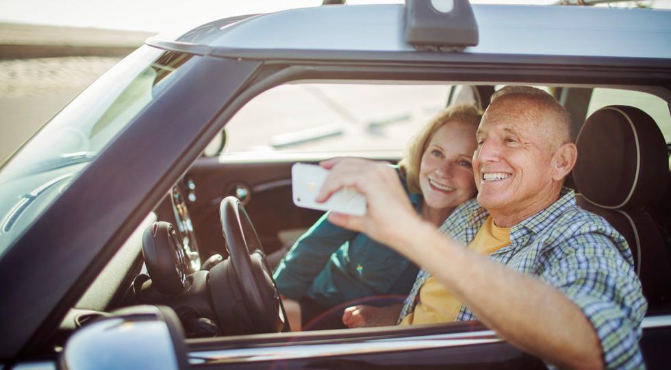 El 3 por ciento de los conductores españoles se ha hecho un selfie