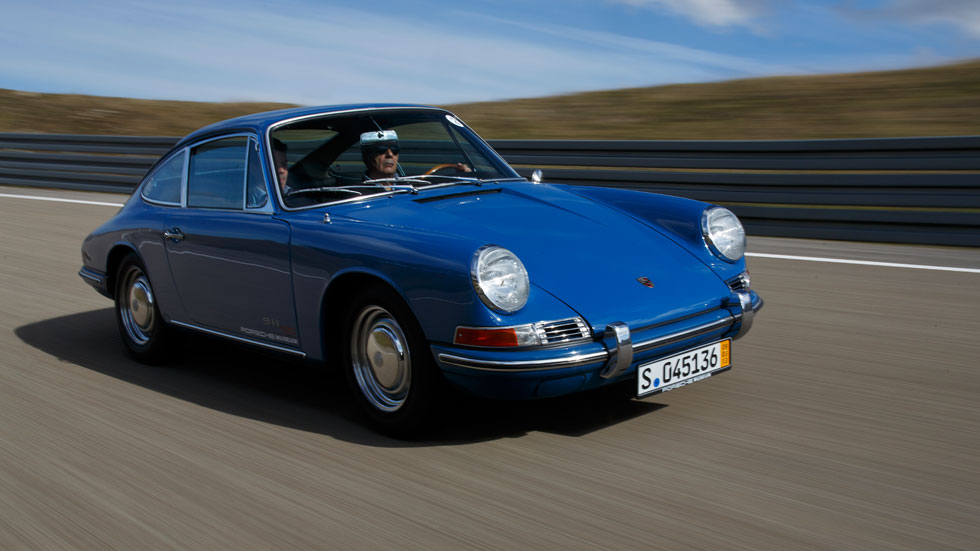 Porsche 911 de ayer... y de hoy, viaje en el tiempo