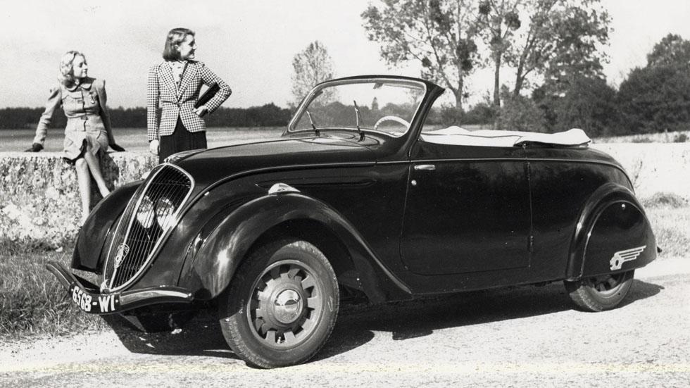 75 años de la primera parada del Peugeot 202