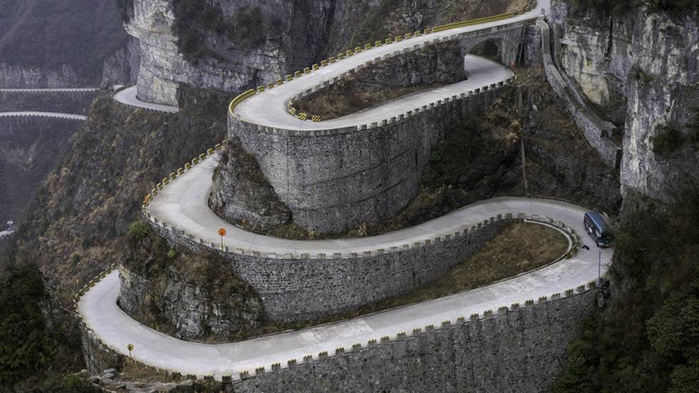 8 carreteras peligrosas del mundo que te quitarán el hipo