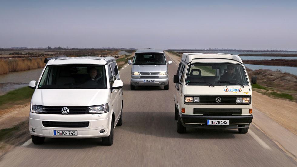 Volkswagen California, 25 años de aventuras