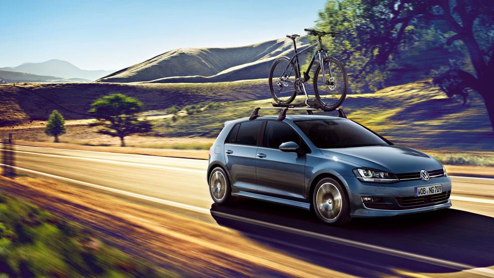 El nuevo VW Golf VII estrena programa de accesorios
