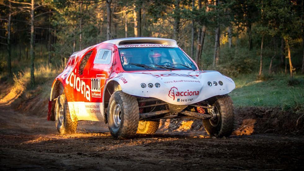 Acciona correrá en el Dakar 2015 con un buggy eléctrico