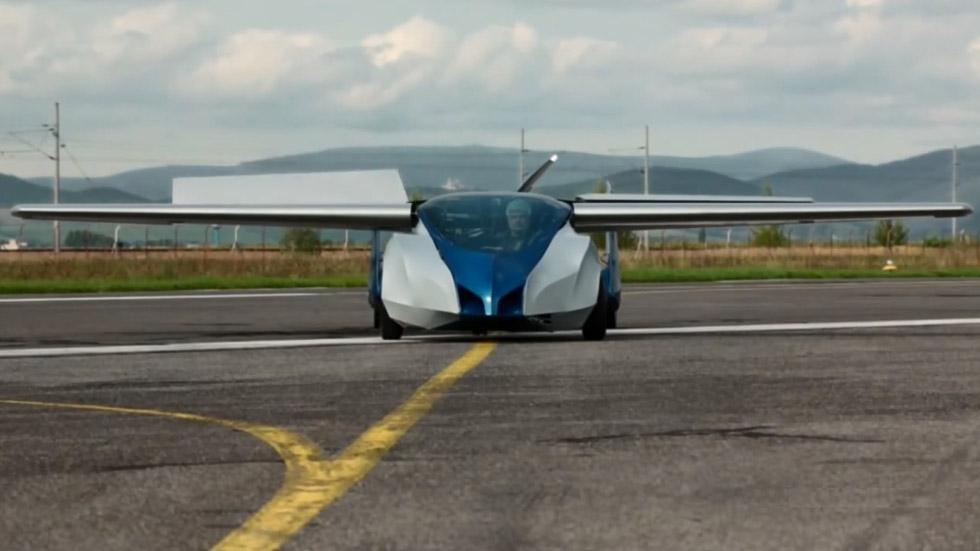 El coche volador Aeromobil 3.0, a examen en Viena