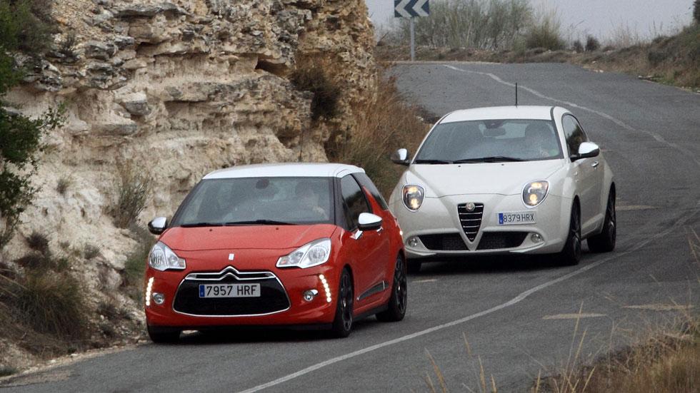 Comparativa: Alfa Mito 1.6 JTDM vs Citroën DS3 1.6 E-HDI