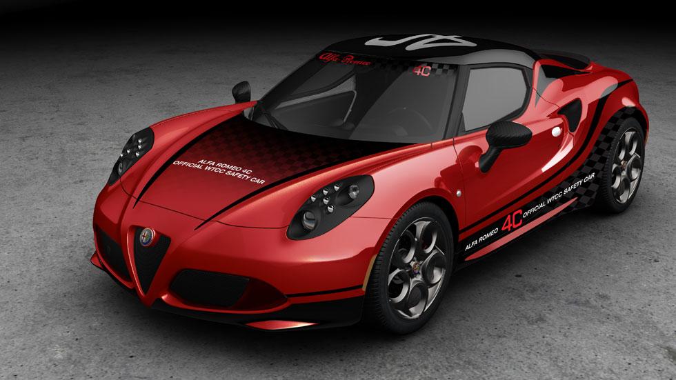 Alfa Romeo 4C, elegido coche de seguridad del Mundial de Turismos 2014