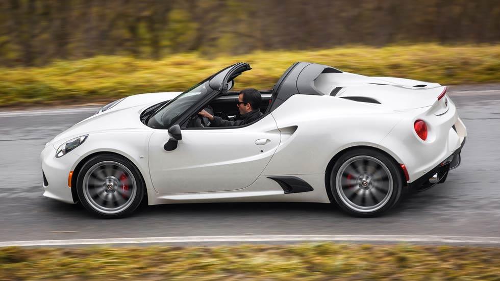 Alfa Romeo 4C Spider, pura excitación
