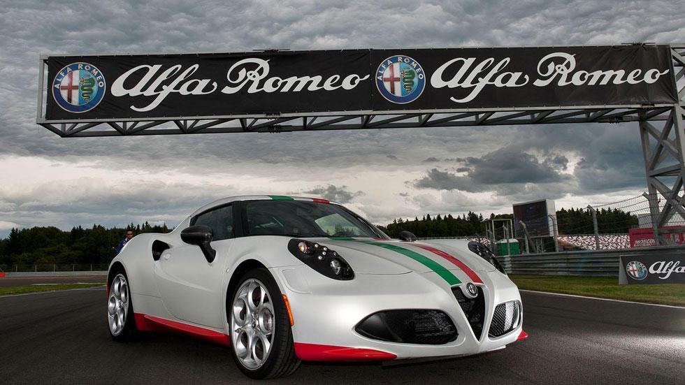 Alfa Romeo 4C, el safety car de las Superbikes