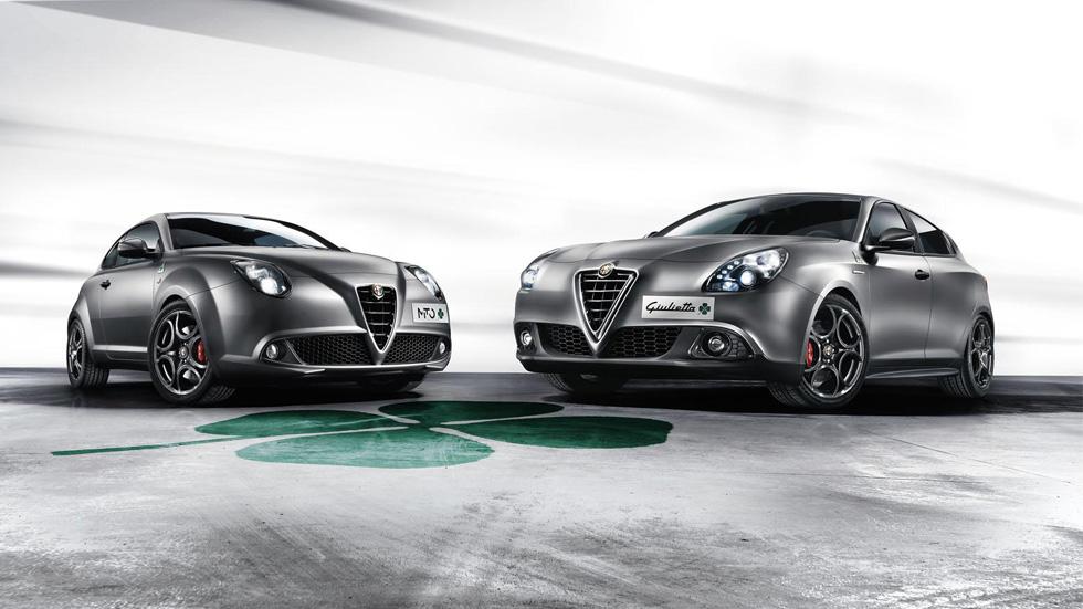 Alfa Romeo Giulietta y Mito Quadrifoglio Verde: seducción deportiva