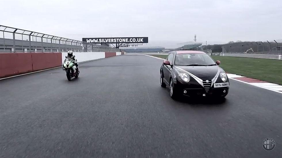 Alfa Mito Quadrifoglio Verde SBK Limited Edition, ¡a dos ruedas!