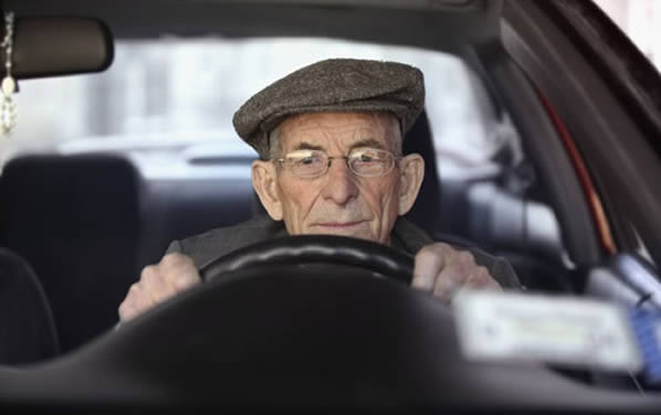 Los mayores, los más multados por exceso de velocidad