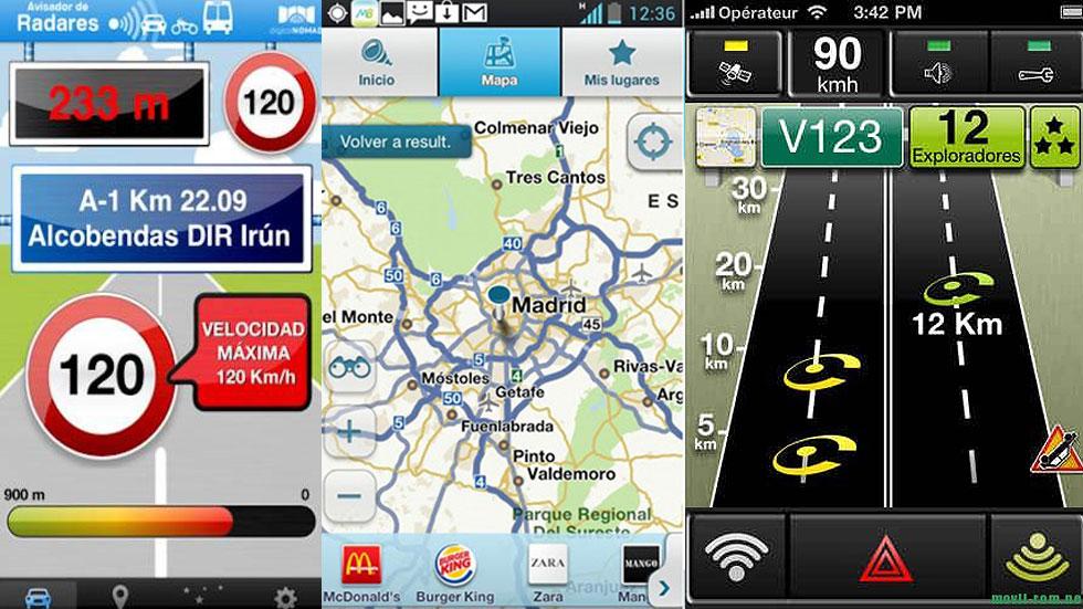 Las 'app' para móvil que te avisan de los radares