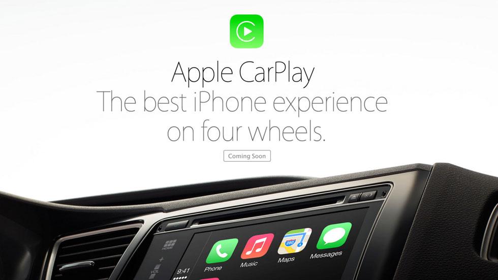 Apple CarPlay: el coche, una extensión del iPhone