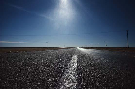 El asfalto de las carreteras, en pésimas condiciones