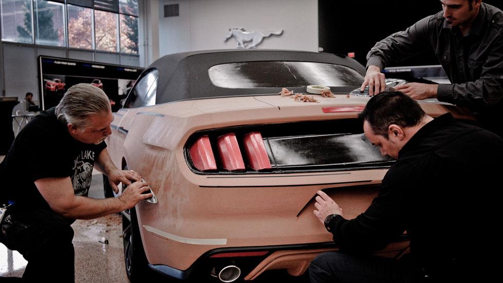 Así se diseña un coche desde la arcilla