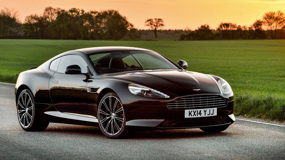 Aston Martin DB9 Carbon Edition, obra de arte deportiva