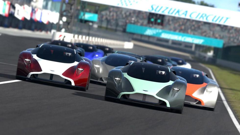 Aston Martin DP-100 Vision, 800 CV para Gran Turismo 6