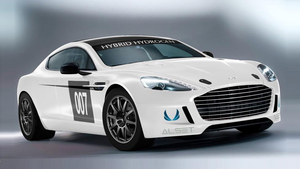 Aston Martin Hybrid Hydrogen Rapide S, híbrido de competición