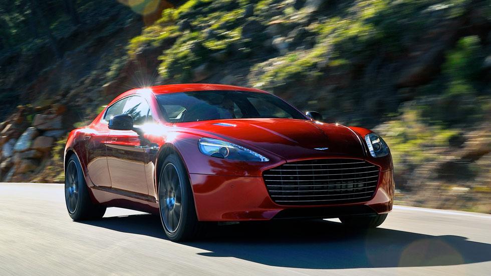 Aston Martin Rapide S, un 'gran turismo' de 558 CV