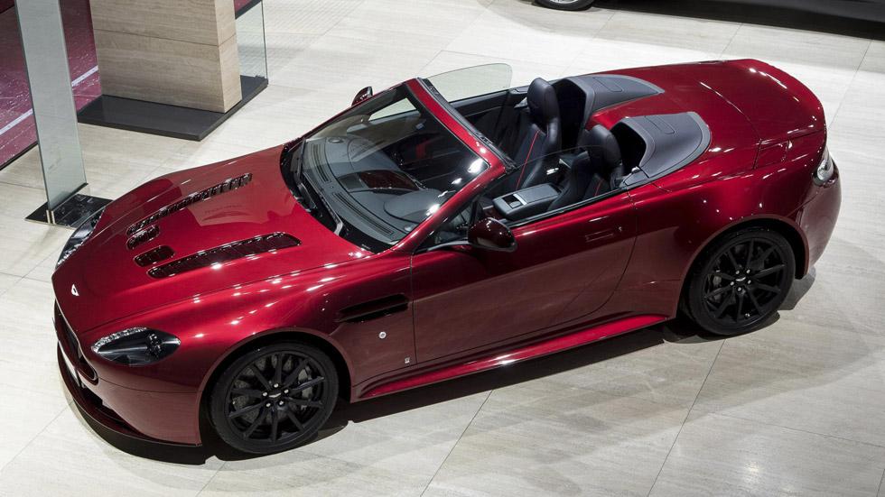 Aston Martin V12 Vantage S Roadster, el misil cabrio